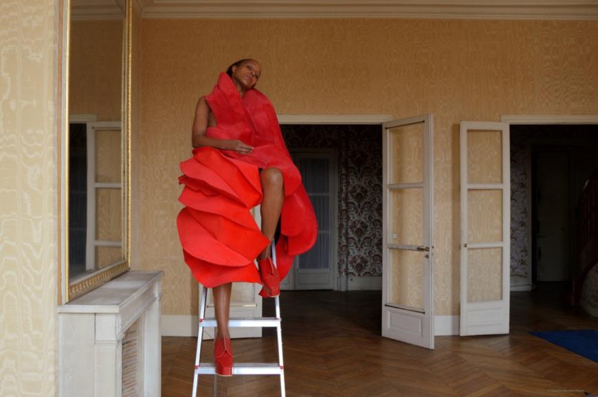 Michelle Elie, Comme des Garçons - Fabrizzio Morales-Angulo